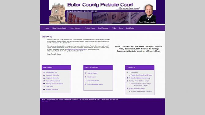 Butler County Probate Court