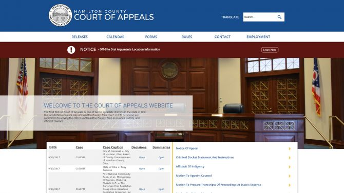 Hamilton County Court of Appeals