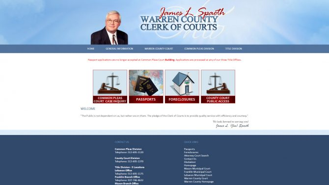 Warren County Clerk of Courts